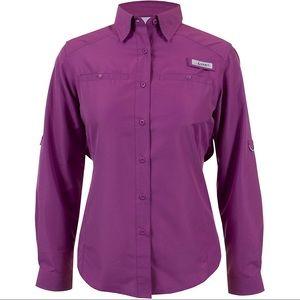 Habit Mauve UPF 40 Vent Fishing Button Down Shirt
